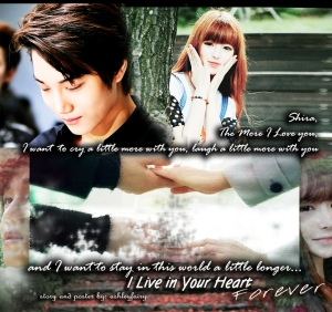 I Live in Your Heart Forever POSTER