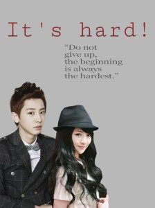 its hard poster
