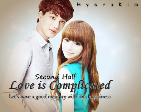 Love is Complicated Second Half Cover 3