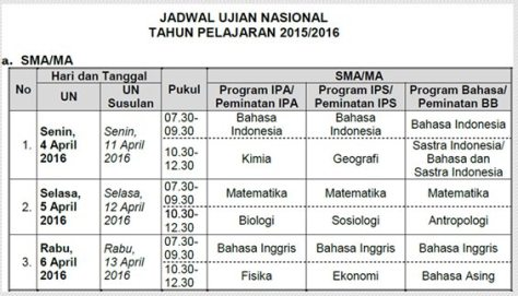 jadwal-ujian-nasional-un-sma-ma-smk-sederajat-tahun-2016
