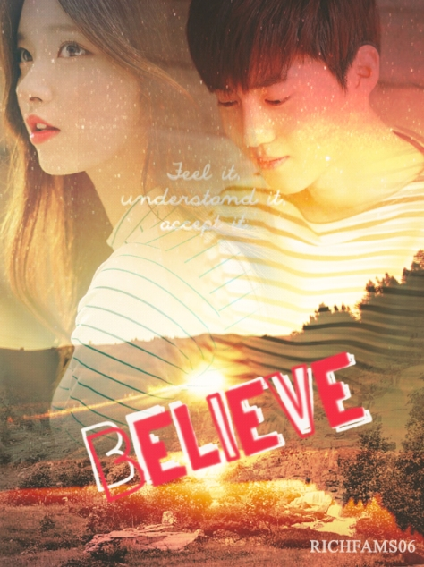 BELIEVE COVERR