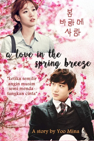 poster a love in the spring breeze