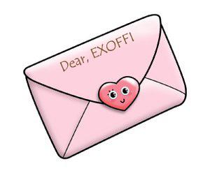 Surat cinta EXOFFI