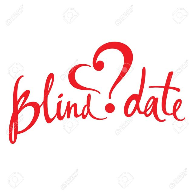 20282066-Blind-Date-love-affair-secret-surprise-heart-concept-Stock-Vector