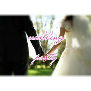 wedding party-poster