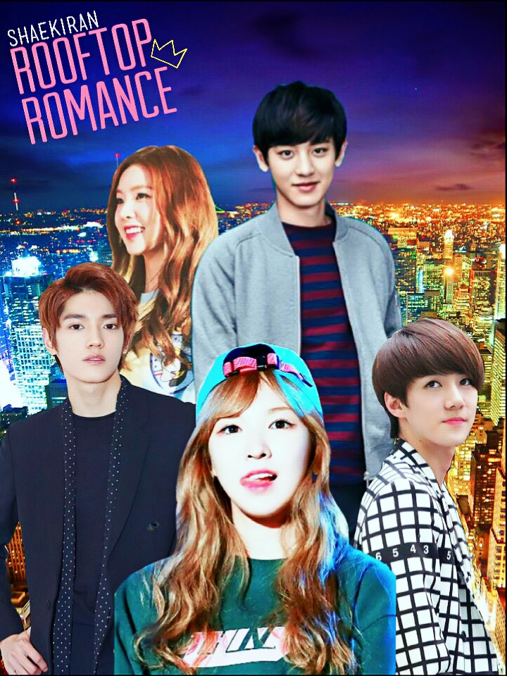 Rooftop Romance 2nd Cover