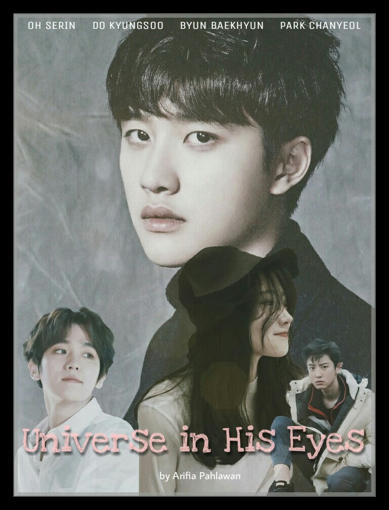 Universe in His Eyes POSTER